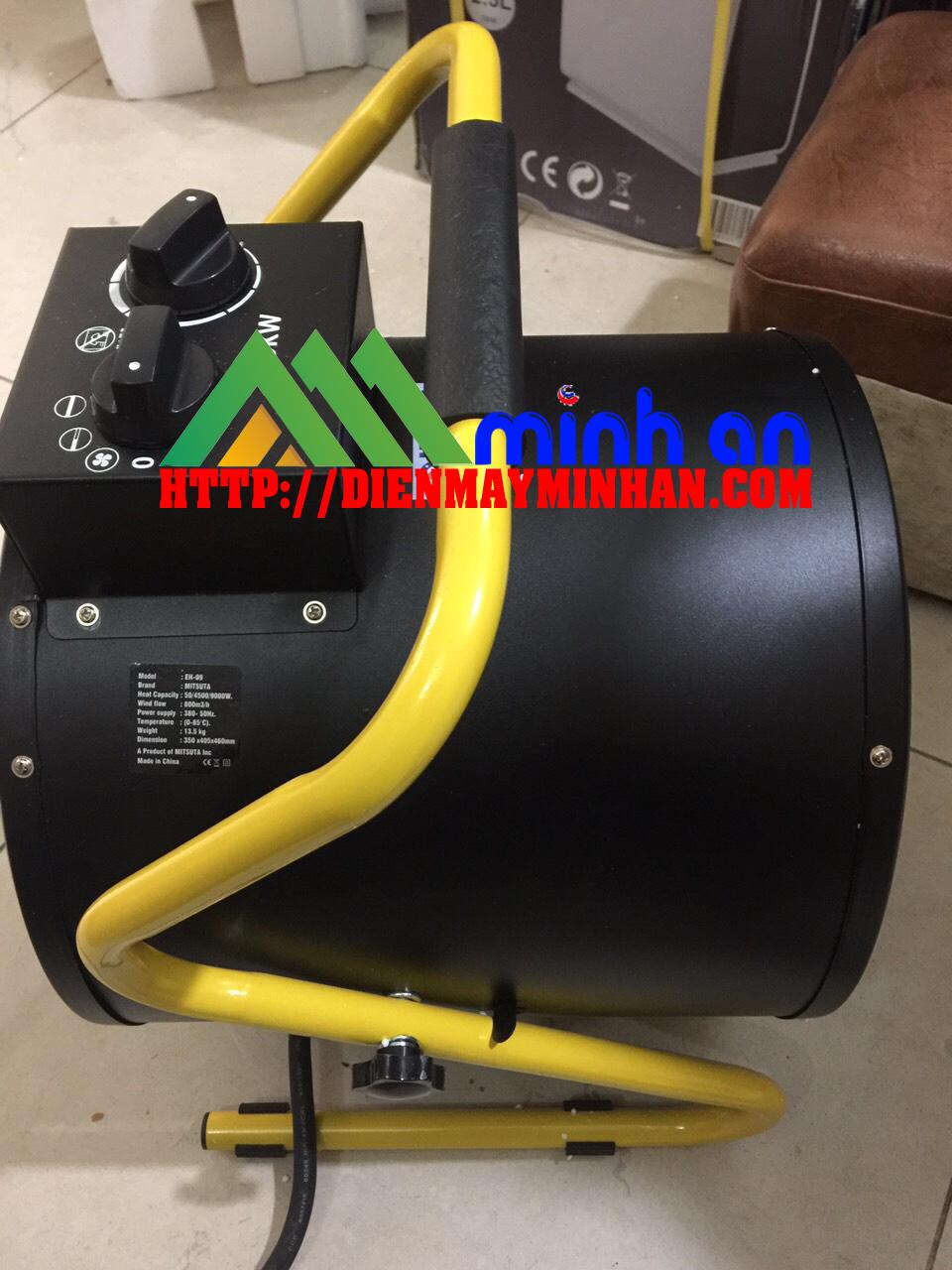 Quạt sấy gió nóng EBISU EH-09 -FY-C9 ( 9kw)