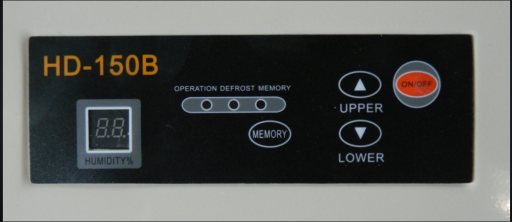 Bảng điều khiển của Harison HD-150B